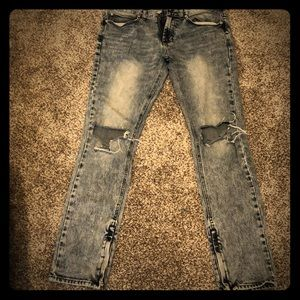 Men's PACSUN Jeans 31x32 Stacked Skinny
